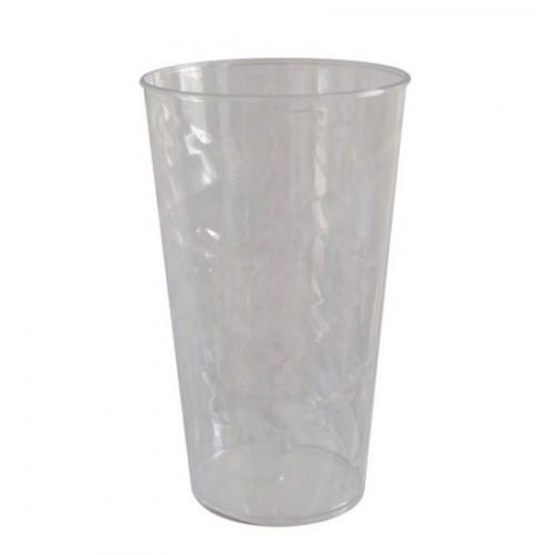 01 UNID. COPOS PLASTICOS TWISTER / COR TRANSPARENTE / TAM. 480ml